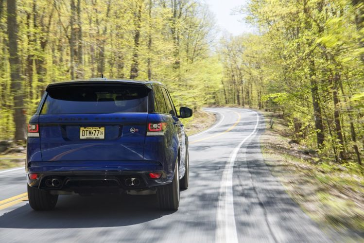 2015 Range Rover Sport SVR US-spec cars all road wallpaper
