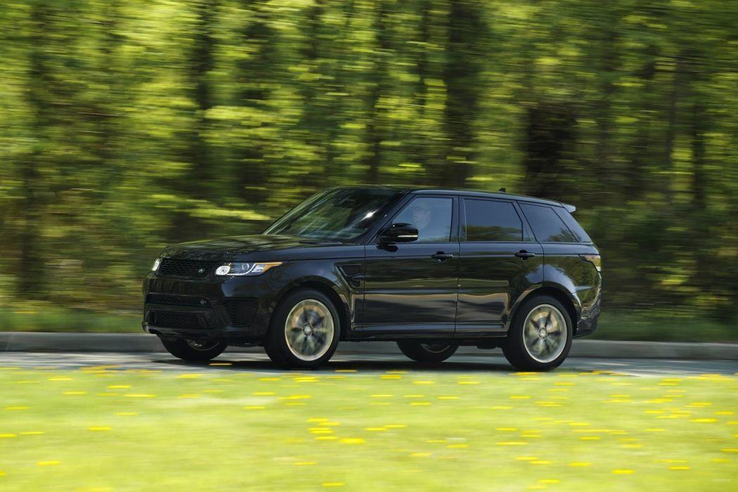 2015 Range Rover Sport SVR US-spec cars all road wallpaper