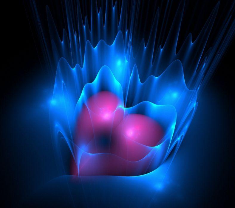 corazon amor abstracto wallpaper