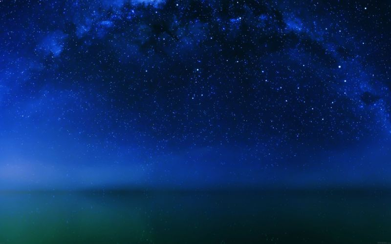 cosmos-night-live-lake-space-starry- wallpaper