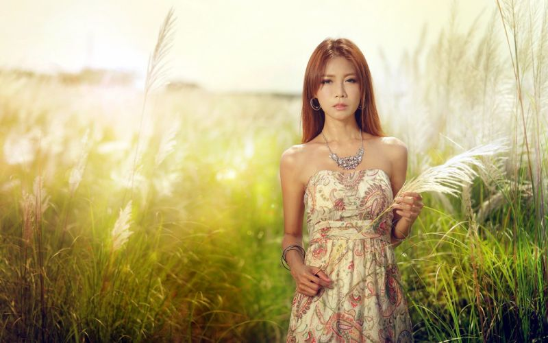 oriental asian girl girls woman women female model d wallpaper