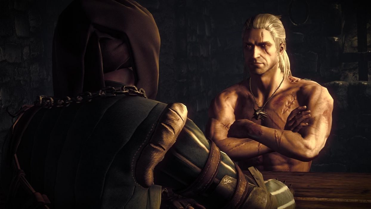 The Witcher 2 Assassins of KingsThe Witcher 2 Assassins of Kings Geralt Vernon Roche Prison wallpaper