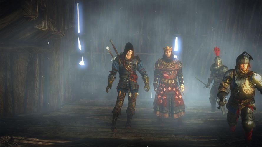 The Witcher 2 Assassins of Kings Geralt Foltest Kingts wallpaper