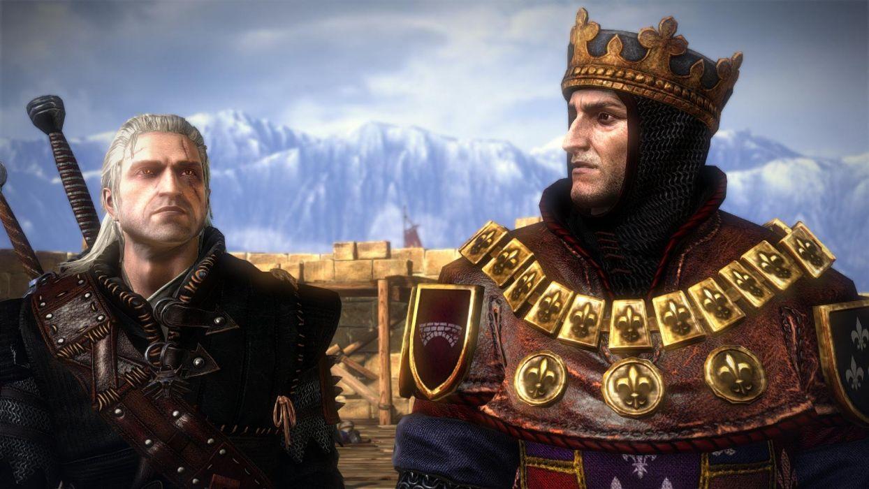 The Witcher 2 Assassins of Kings Gerakt Foltest wallpaper