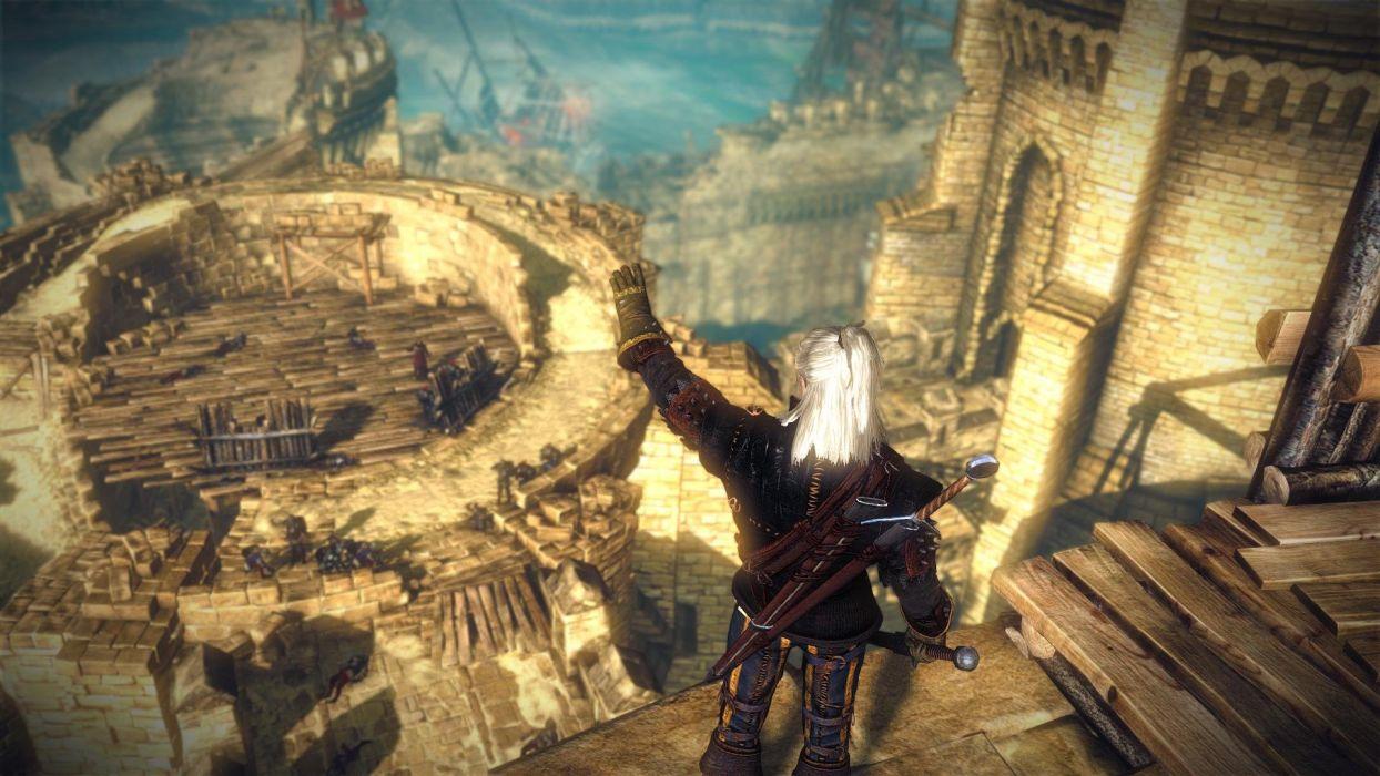 The Witcher 2 Assassins of Kings Geralt wallpaper