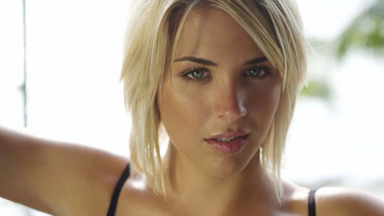 FACE - Gemma Atkinson girl women blonde wallpaper