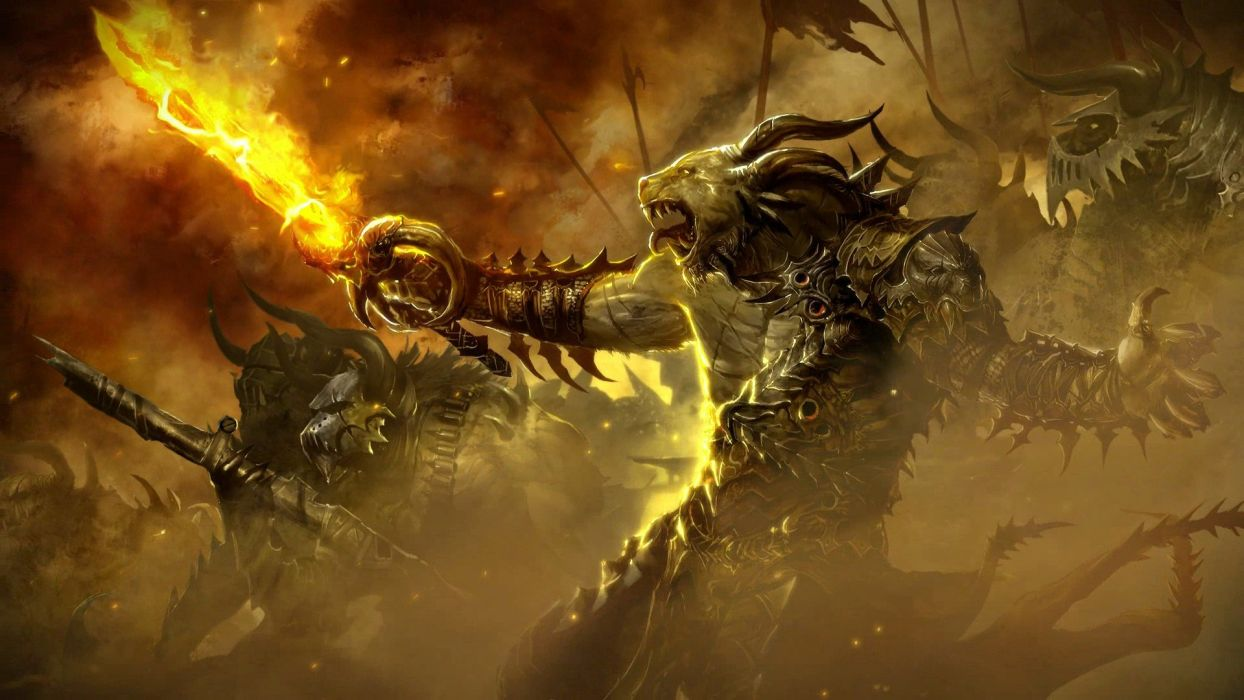 GAMES - Fire Sword wallpaper