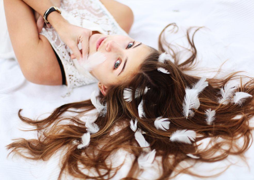 women woman mood girl girls model female d wallpaper