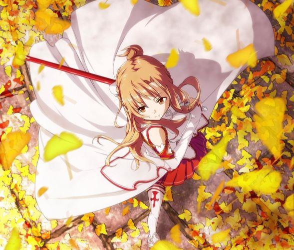 anime girl asuna yuuki wallpaper