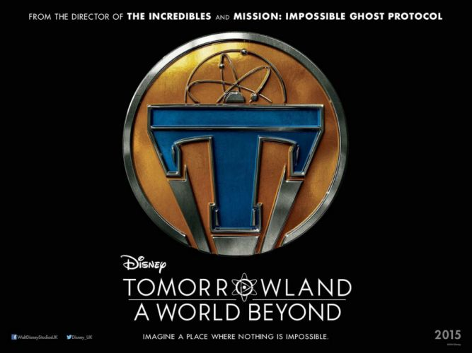 TOMORROWLAND action adventure mystery sci-fi fantasy disney 1tomorrow poster wallpaper