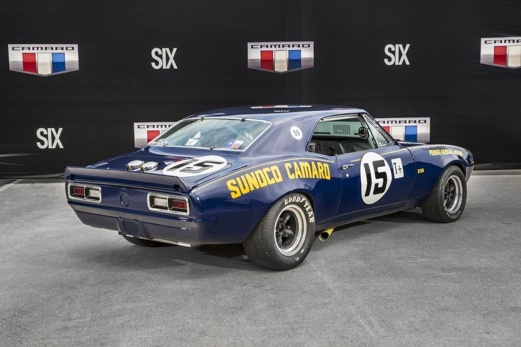 1967 Chevrolet Camaro Z28 Penske Sunoco Race Cars wallpaper