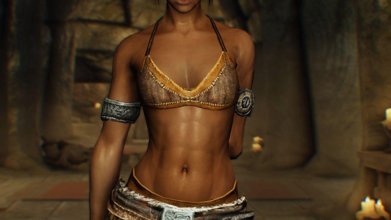 GAMES - skyrim warrior mod 6 wallpaper