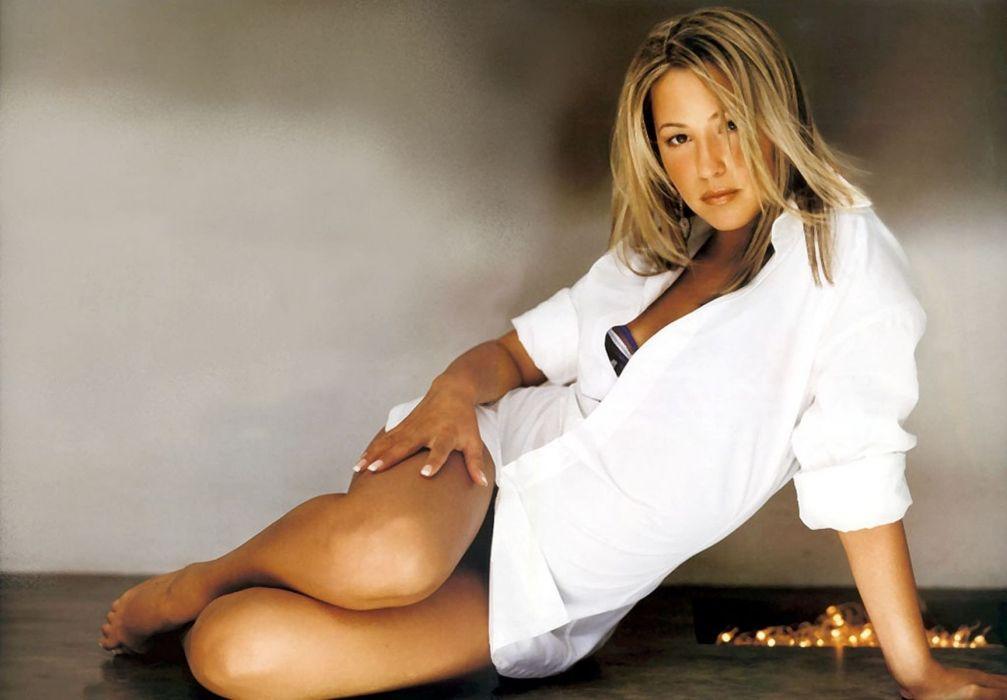 SENSUALITY - Rachel Stevens girl women blonde celebrity actress shirt wallpaper