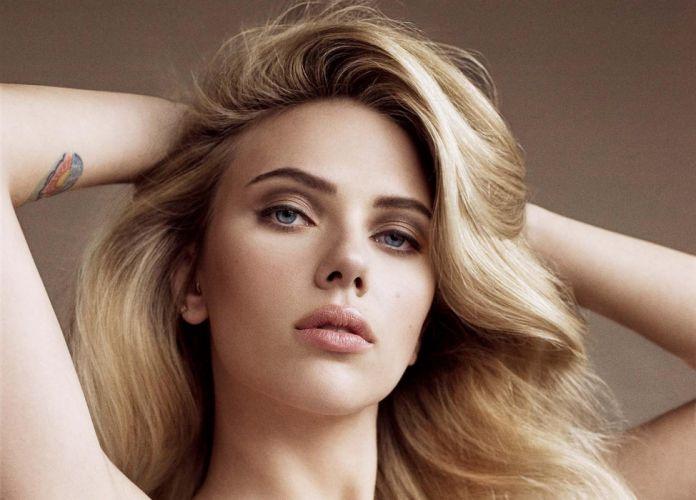 FACE - Scarlett Johansson actress girl women blonde beautiful sensuality wallpaper