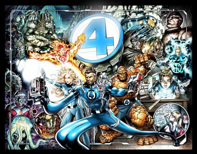 FANTASTIC FOUR superhero hero heroes marvel fighting sci-fi warrior 1ffour 2005ff silver comics surfer poster xmen x-men wallpaper