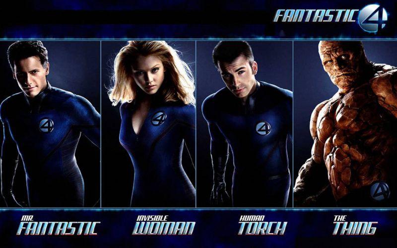 FANTASTIC FOUR superhero hero heroes marvel fighting sci-fi warrior 1ffour 2005ff silver comics surfer poster wallpaper