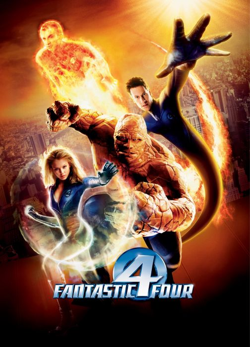 FANTASTIC FOUR superhero hero heroes marvel fighting sci-fi warrior 1ffour 2005ff silver comics surfer wallpaper