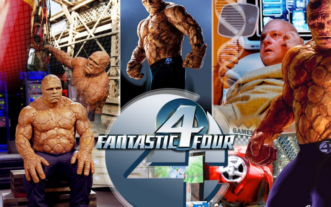 FANTASTIC FOUR superhero hero heroes marvel fighting sci-fi warrior 1ffour 2005ff silver comics surfer poster wallpaper