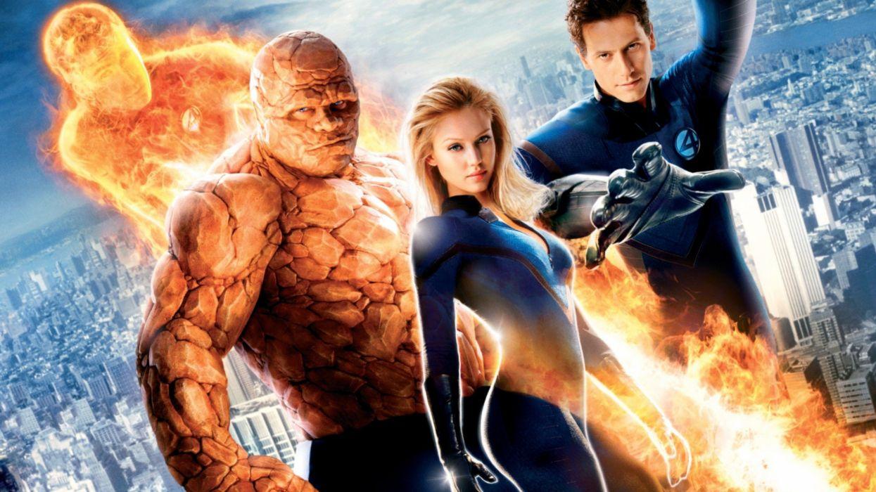 FANTASTIC FOUR superhero hero heroes marvel fighting sci-fi warrior 1ffour 2005ff silver comics surfer wallpaper