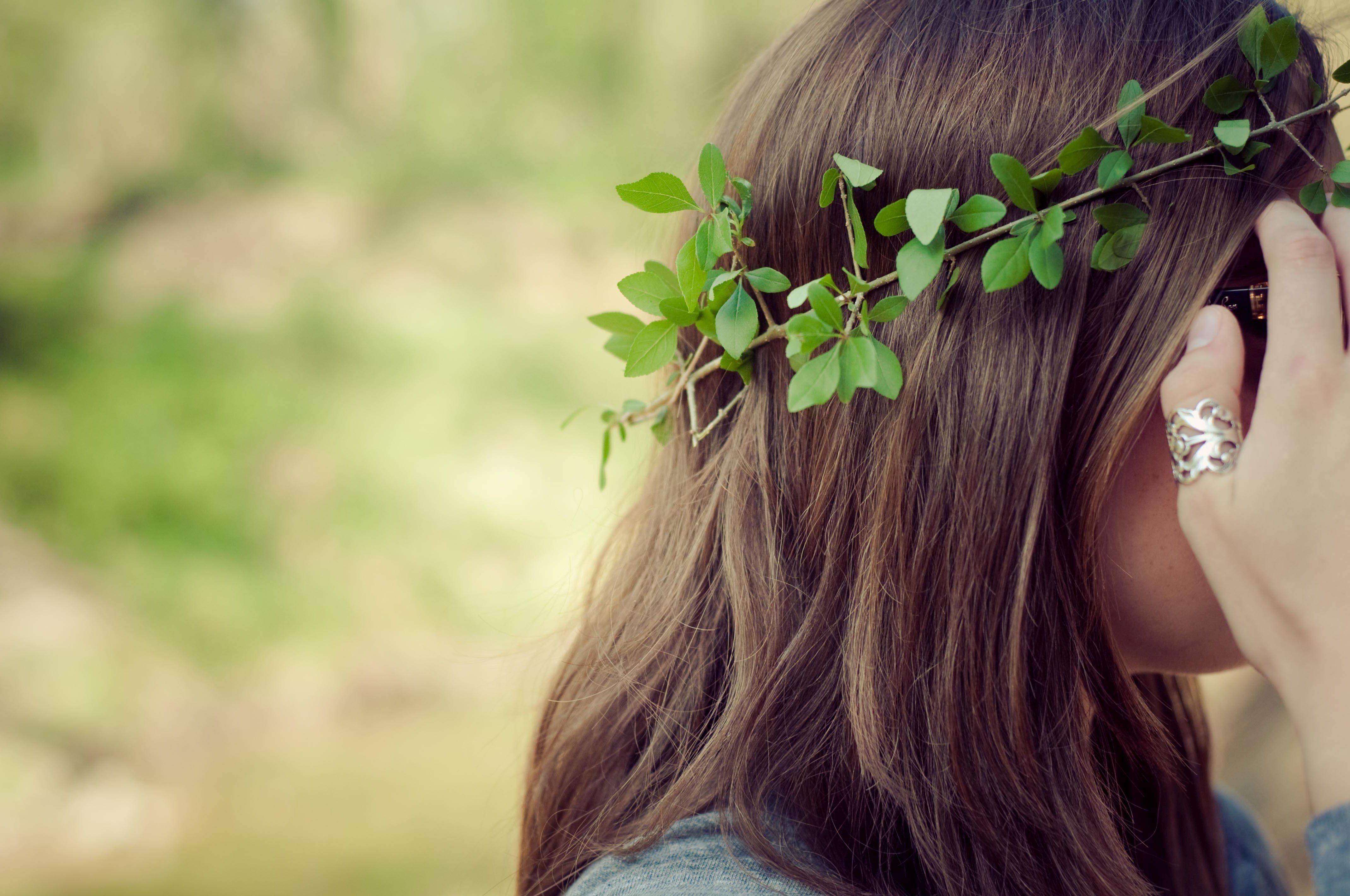 Фото девушек русых волос со спины 5 фотография