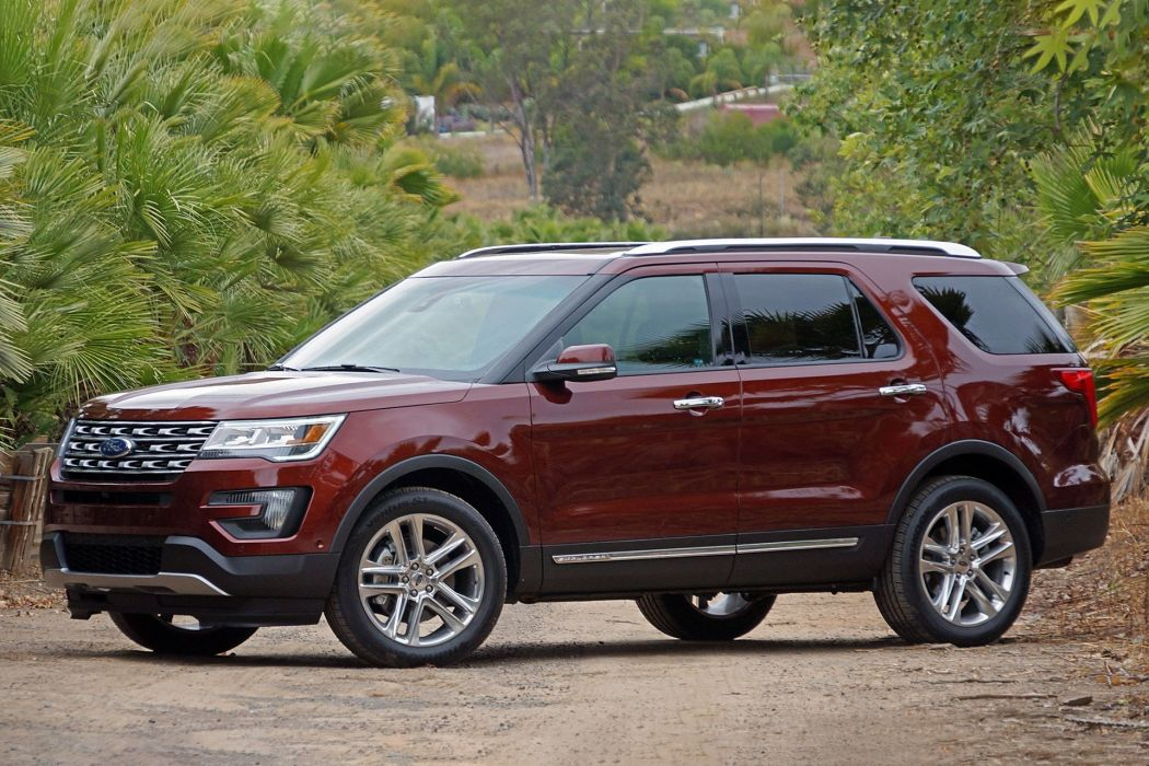 2016 Ford Explorer cars all road 4x4 wallpaper