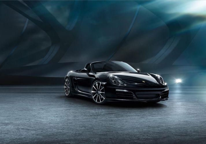 2015 Porsche Boxster Black Edition cars convertible wallpaper