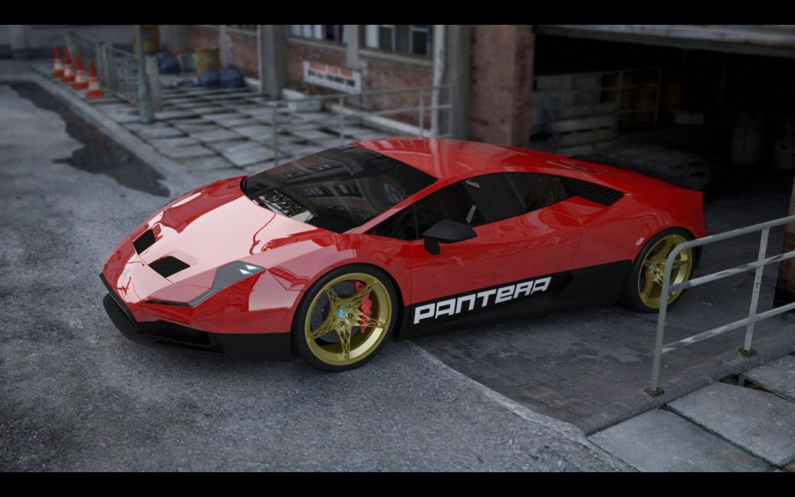 De-Tomaso Pantera concept cars 2015 wallpaper