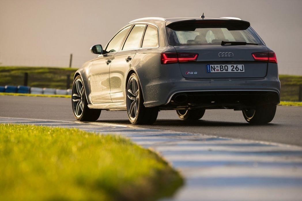 2015 Audi RS6 Avant AU-spec wagon cars german wallpaper