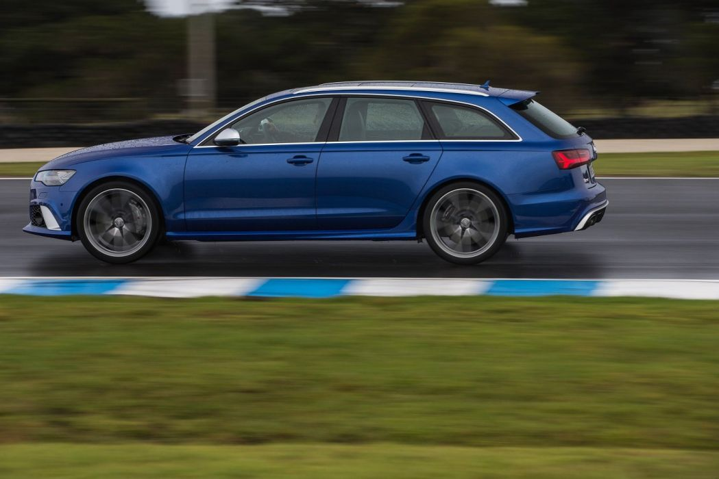 2015 Audi RS6 Avant AU-spec wagon cars german wallpaper
