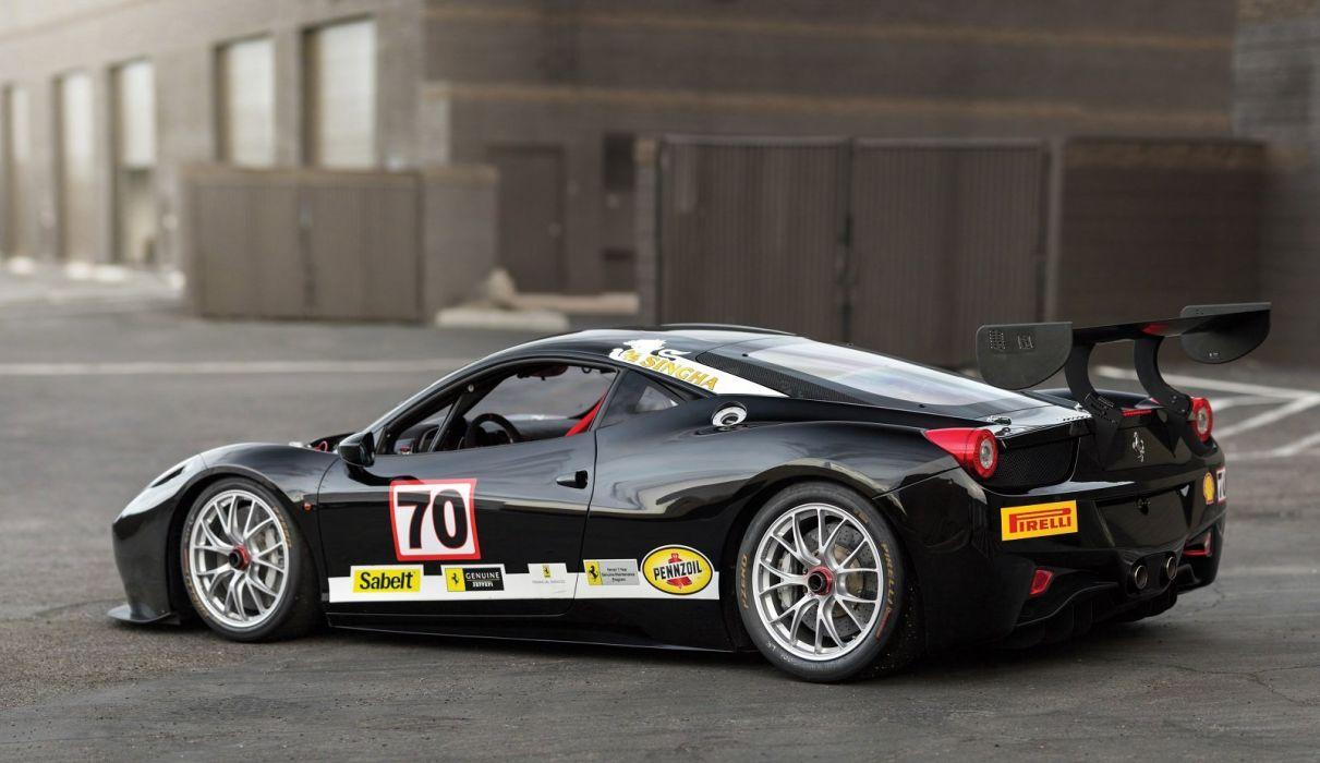 Ferrari 458 Challenge Evoluzione 2014 race cars wallpaper