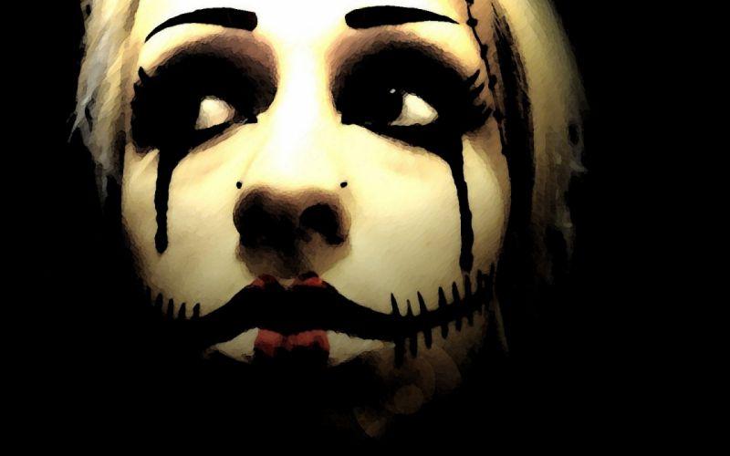 dark horror evil clown art artwork f wallpaper