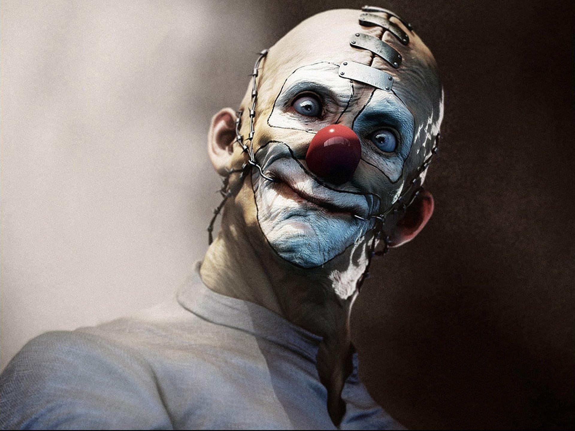 Dark Horror Evil Clown Art Artwork F Wallpaper  1920x1440