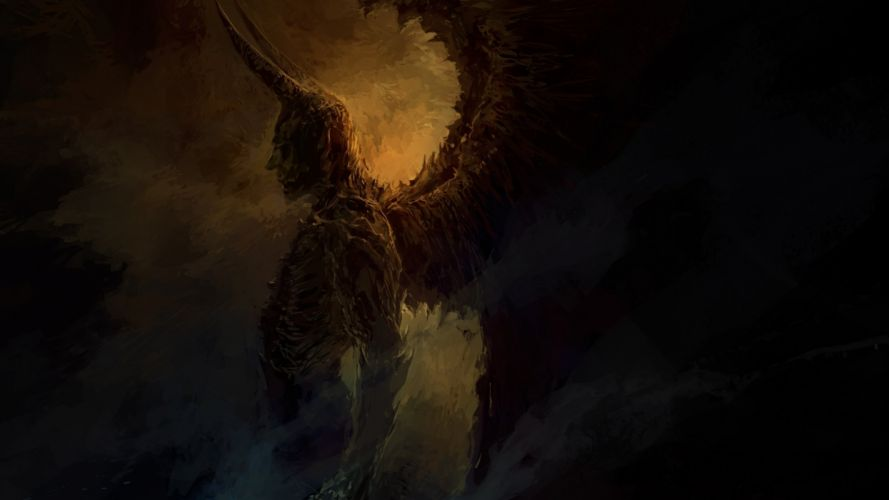 dark demon evil fantasy monster art artwork d wallpaper