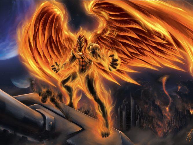 dark demon evil fantasy monster art artwork d wallpaper