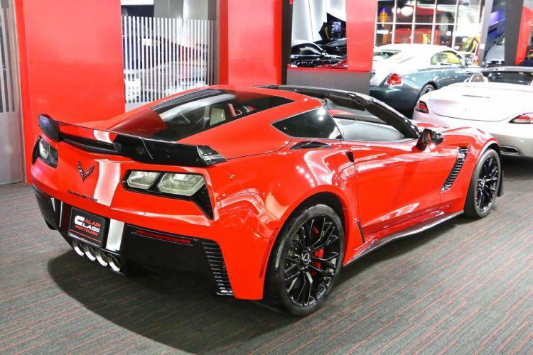 CHEVROLET chevy Corvette-C7 Z06 coupe cars 2015 red wallpaper