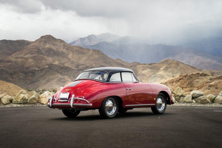 Porsche 356A 1600 Cabriolet Reutter US-spec T2 1957 cars classic wallpaper