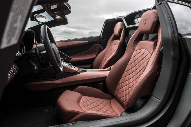 2015 Lamborghini Aventador LP-700-4 Roadster cars supercars wallpaper
