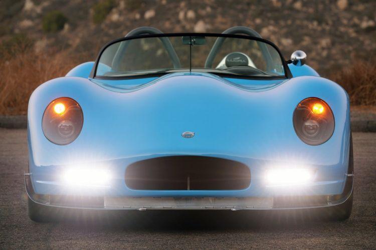2015 Lucra LC470 cars roadster blue wallpaper