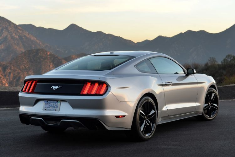2015 Coupe ecoboost Ford muscle Mustang wallpaper