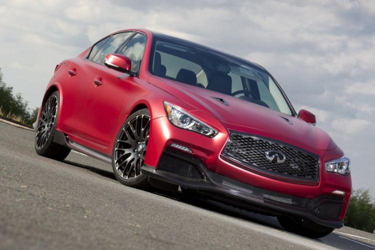 2016 Infiniti Q50 Eau Rouge Prototype cars red wallpaper