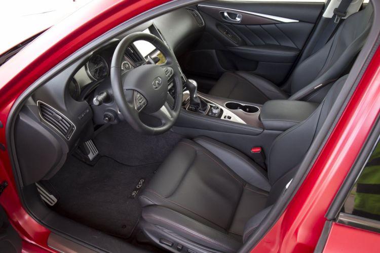 2016 Infiniti Q50 Eau Rouge Prototype cars red wallpaper