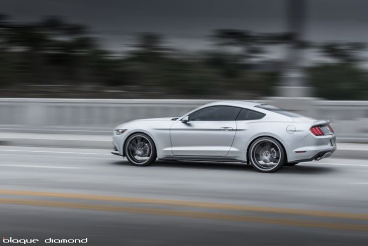 Ford Mustang-GT coupe cars 2015 wallpaper