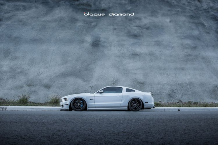 Ford Mustang-GT 2013 coupe cars modified wallpaper