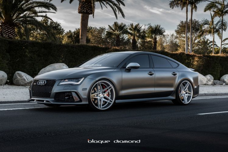 Audi RS7 cars tuning wheels wallpaper