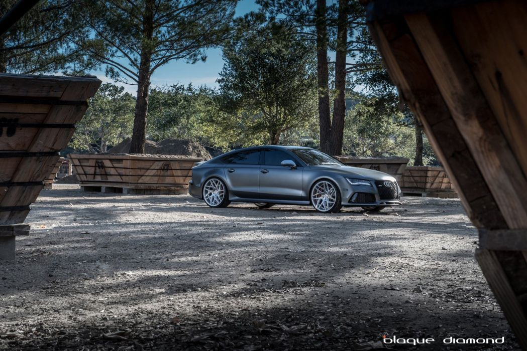 audi rs7 cars tuning wheels wallpaper