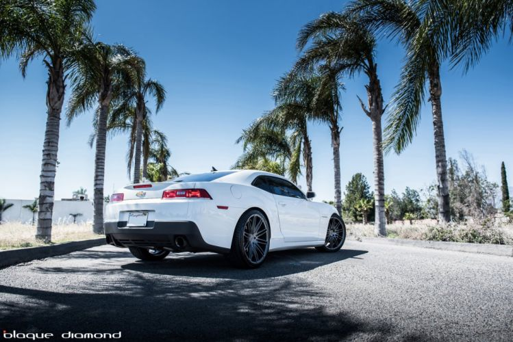 Chevy chevrolet coupe white Camaro cars tuning wheels wallpaper