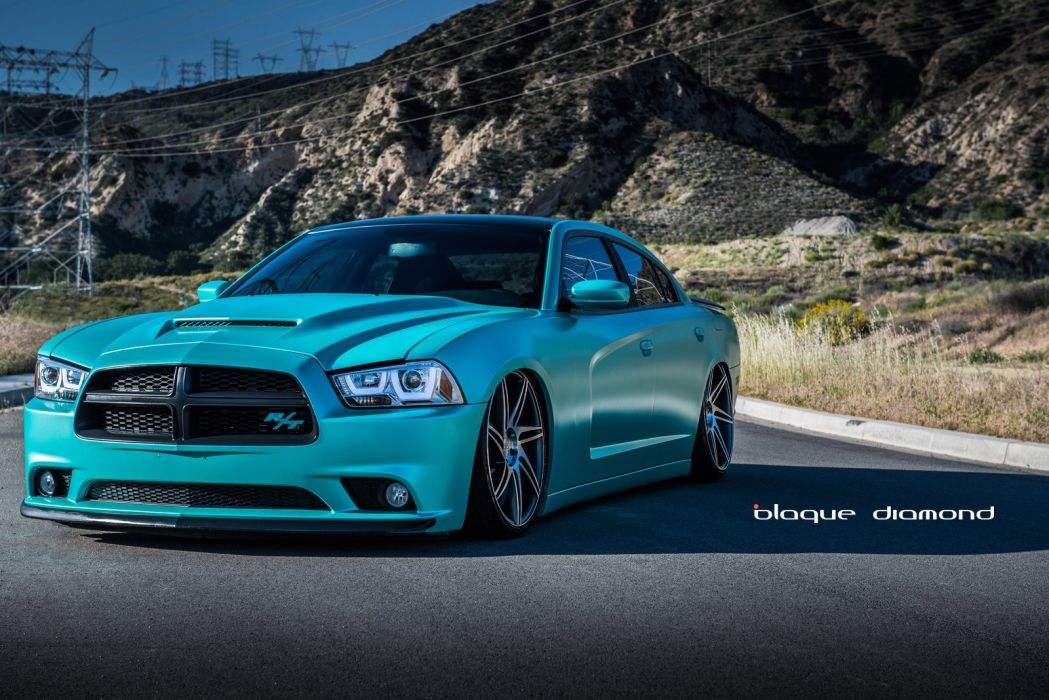 Dodge Charger Rt Blue Daytona Modified Cars Tuning Wheels