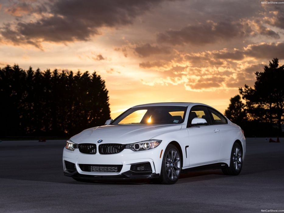 BMW 435i ZHP Coupe cars white 2016 wallpaper