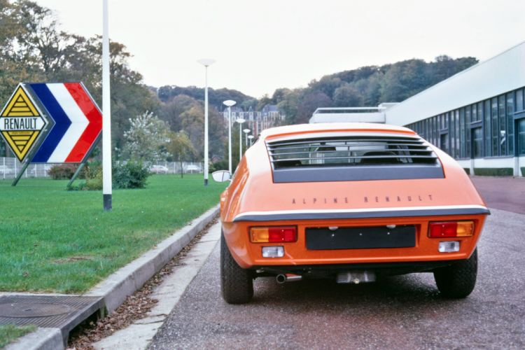 Renault Alpine A310 1973 cars coupe orange wallpaper