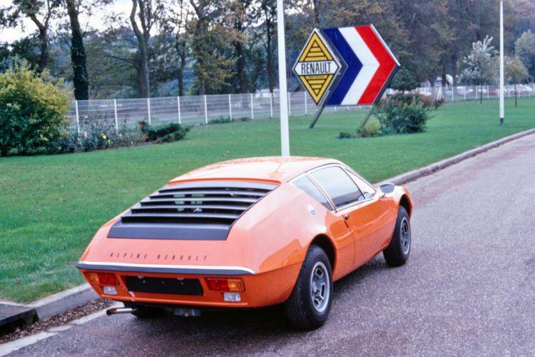 Renault Alpine A310 1973 cars coupe orange wallpaper